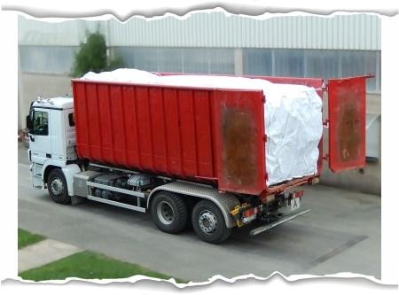 Containerbag Asbest 17m³ (mit Warndruck Asbest)