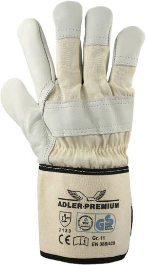 Adler-Premium Rindnarbenleder Handschuhe