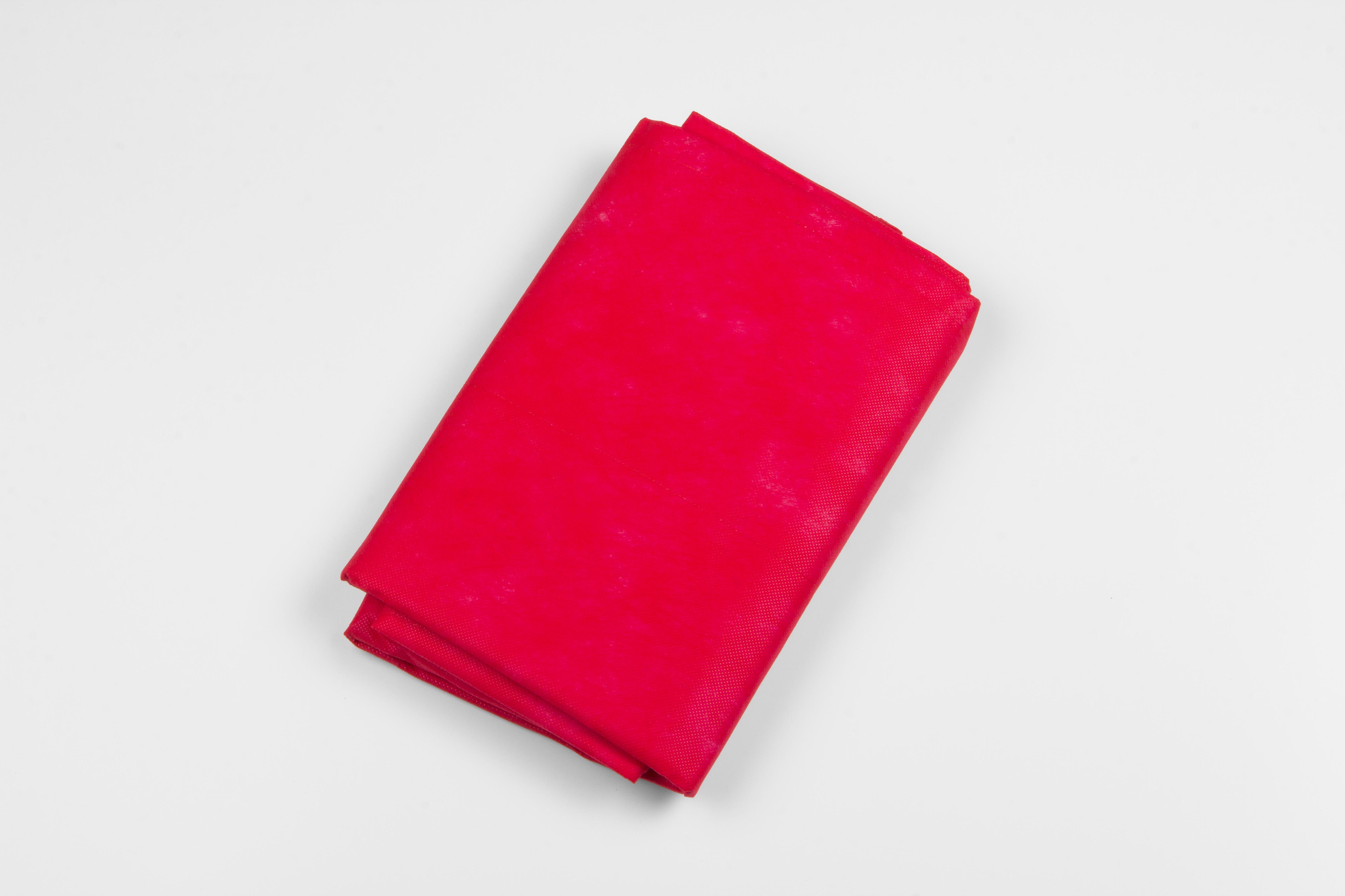 Einmaldecken, rot, 200g