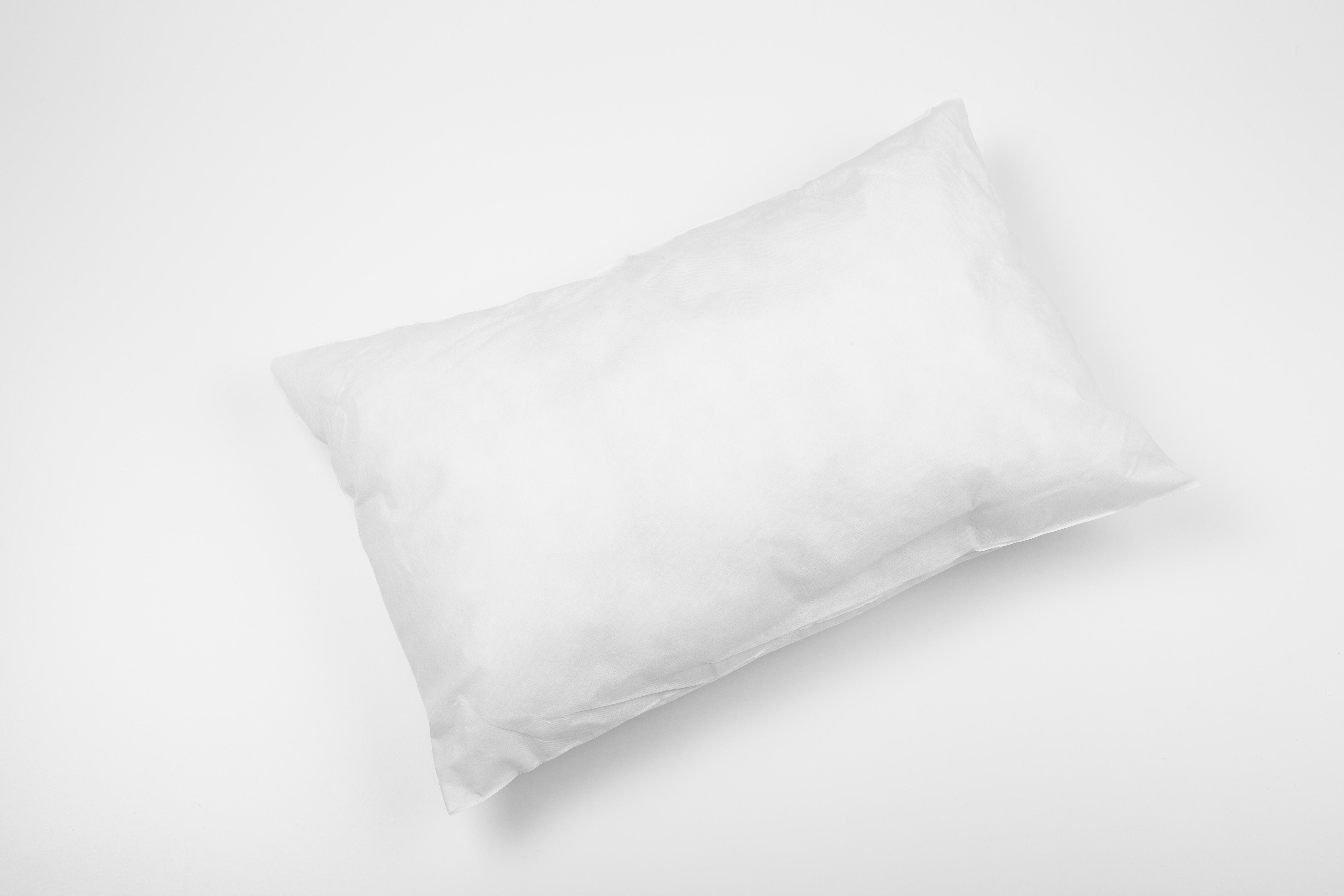Einmalkissen weiß 60x40cm