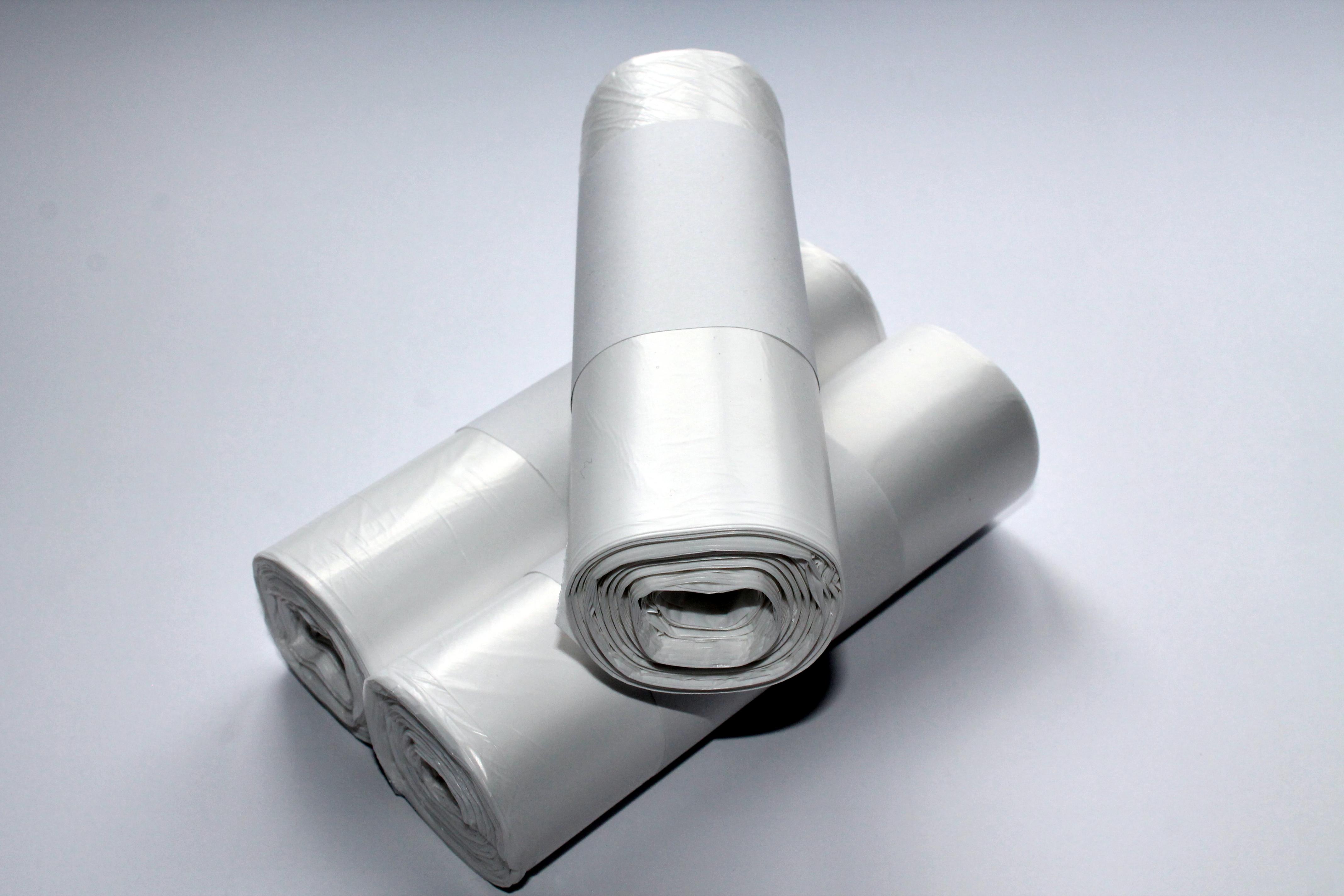 HDPE-Abfallbeutel, 12 my, 60l