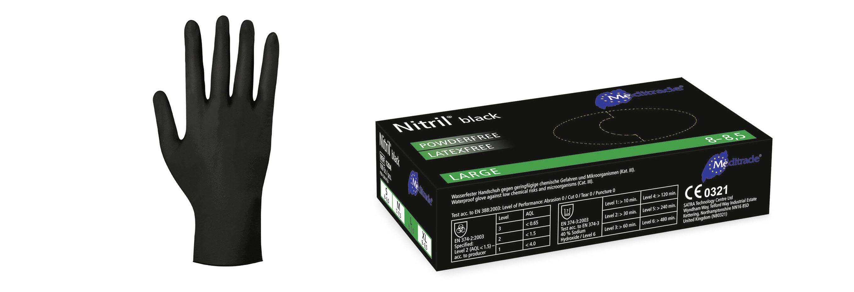 Nitril® Black Untersuchungshandschuh