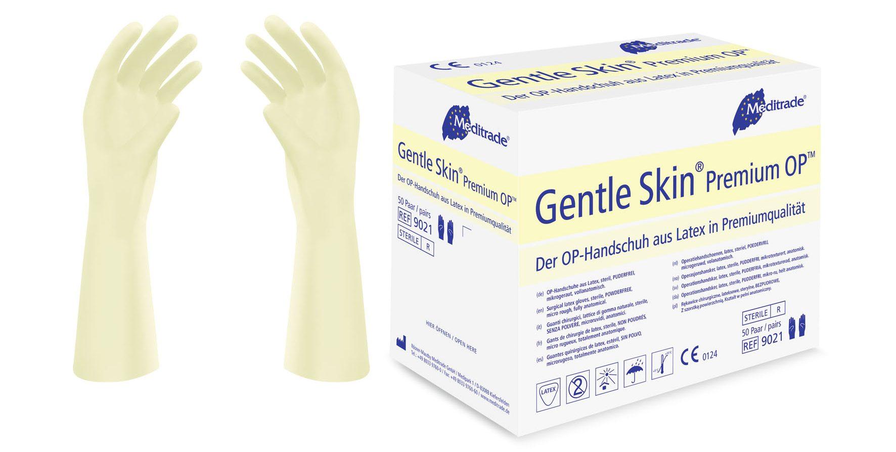 Gentle Skin® Premium OP™, Handschuhe aus Latex