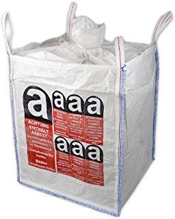 Big Bag mit A-Aufdruck, 90 x 90 x 110cm