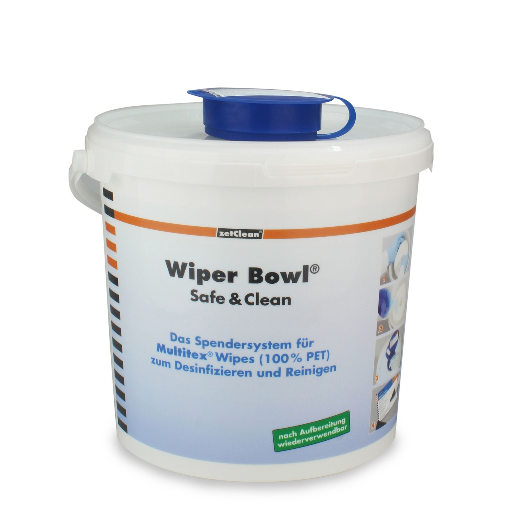 Wiper Bowl® Safe & Clean Spendereimer