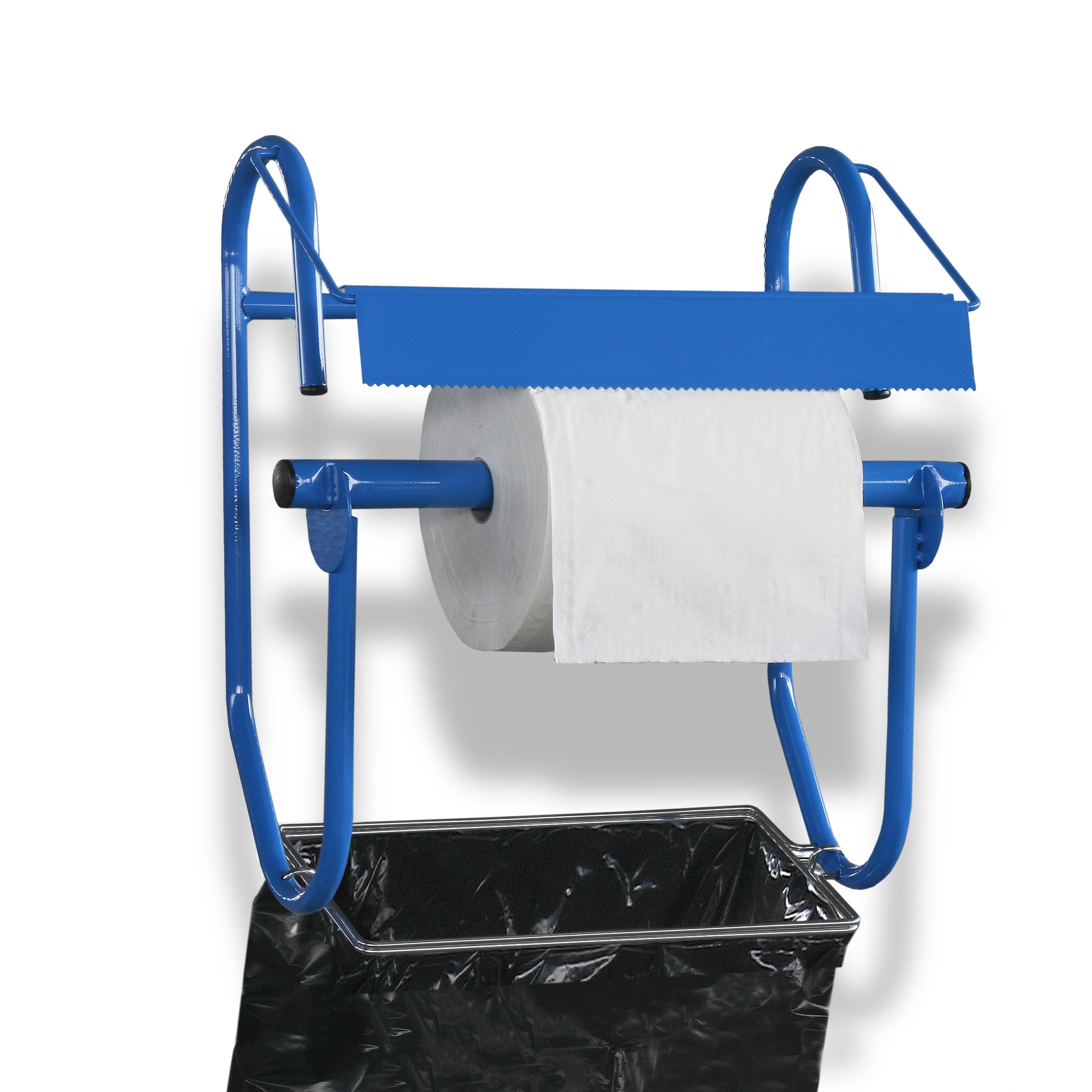 Wandhalter (breit) für Putztuchrollen