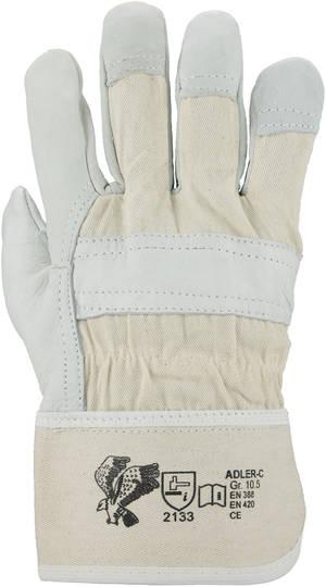 Adler-C Rindnarbenleder Handschuhe 120 Paar