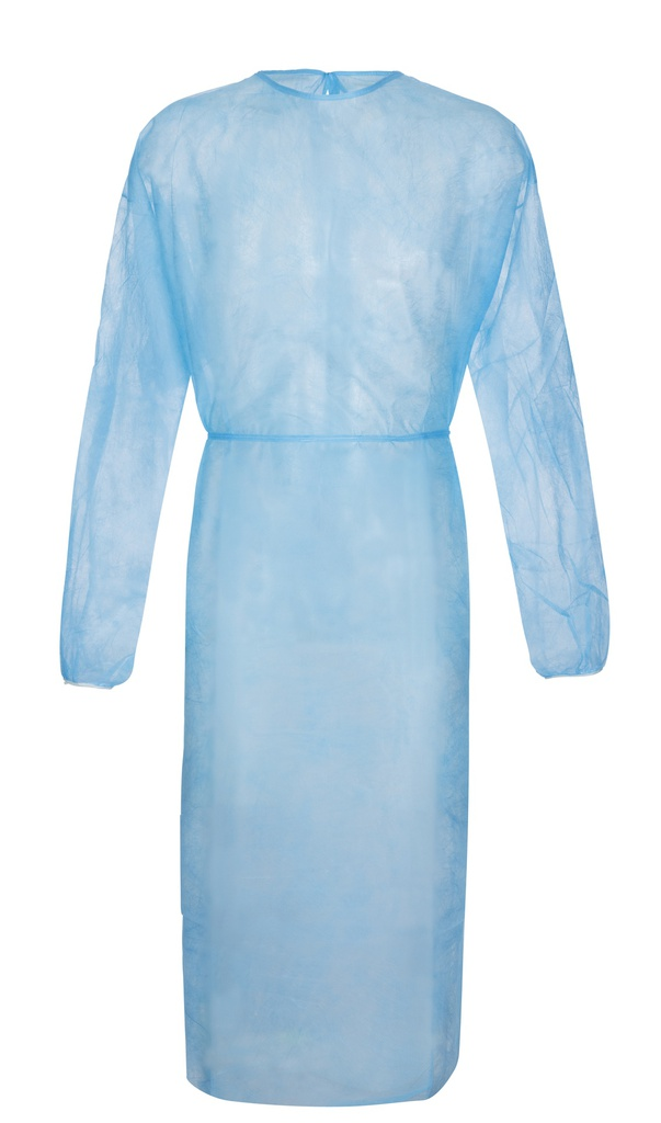 Splash-Coat+ Besucherkittel, 136cm lang, blau