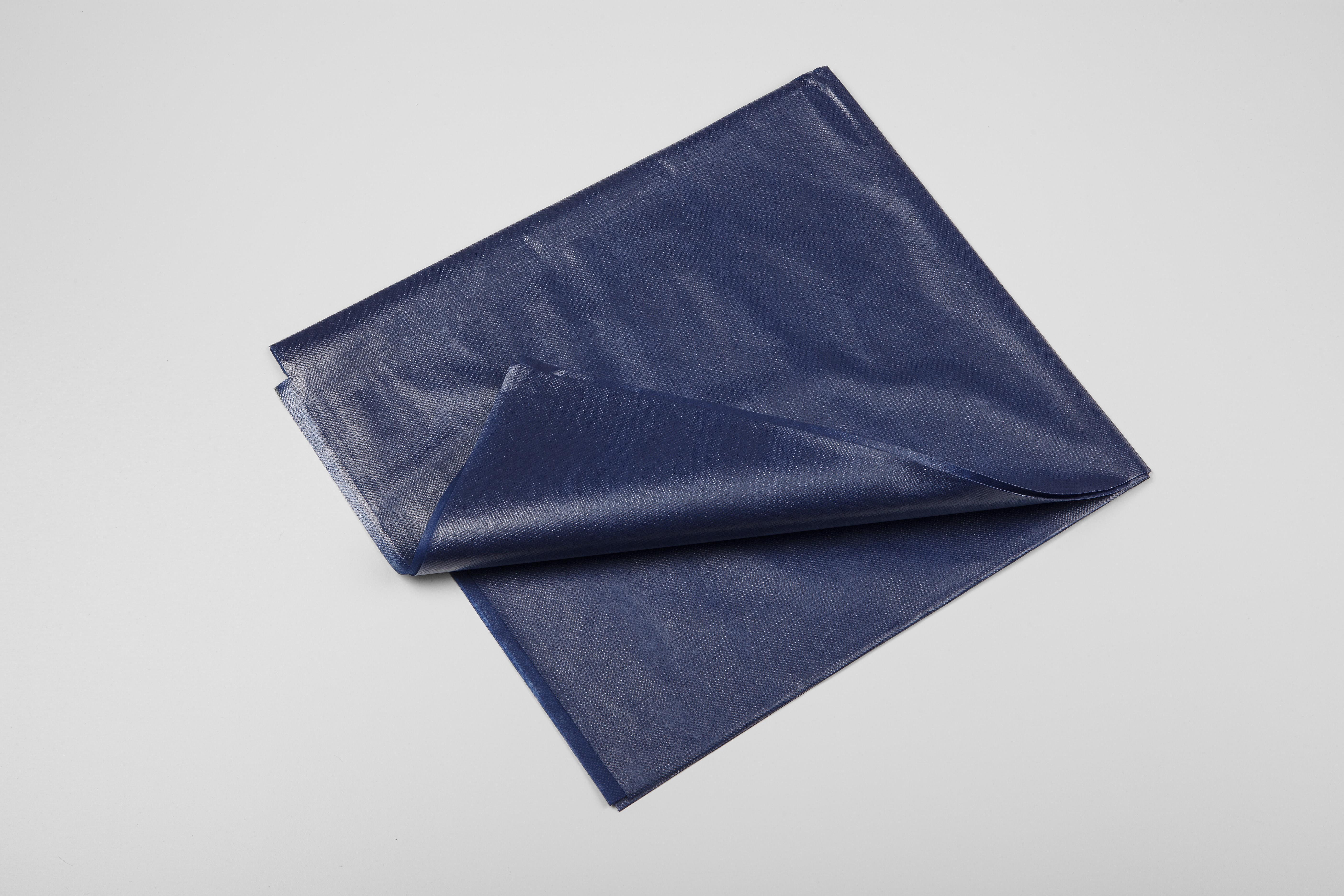 Einmalvlieslaken 200x100cm blau