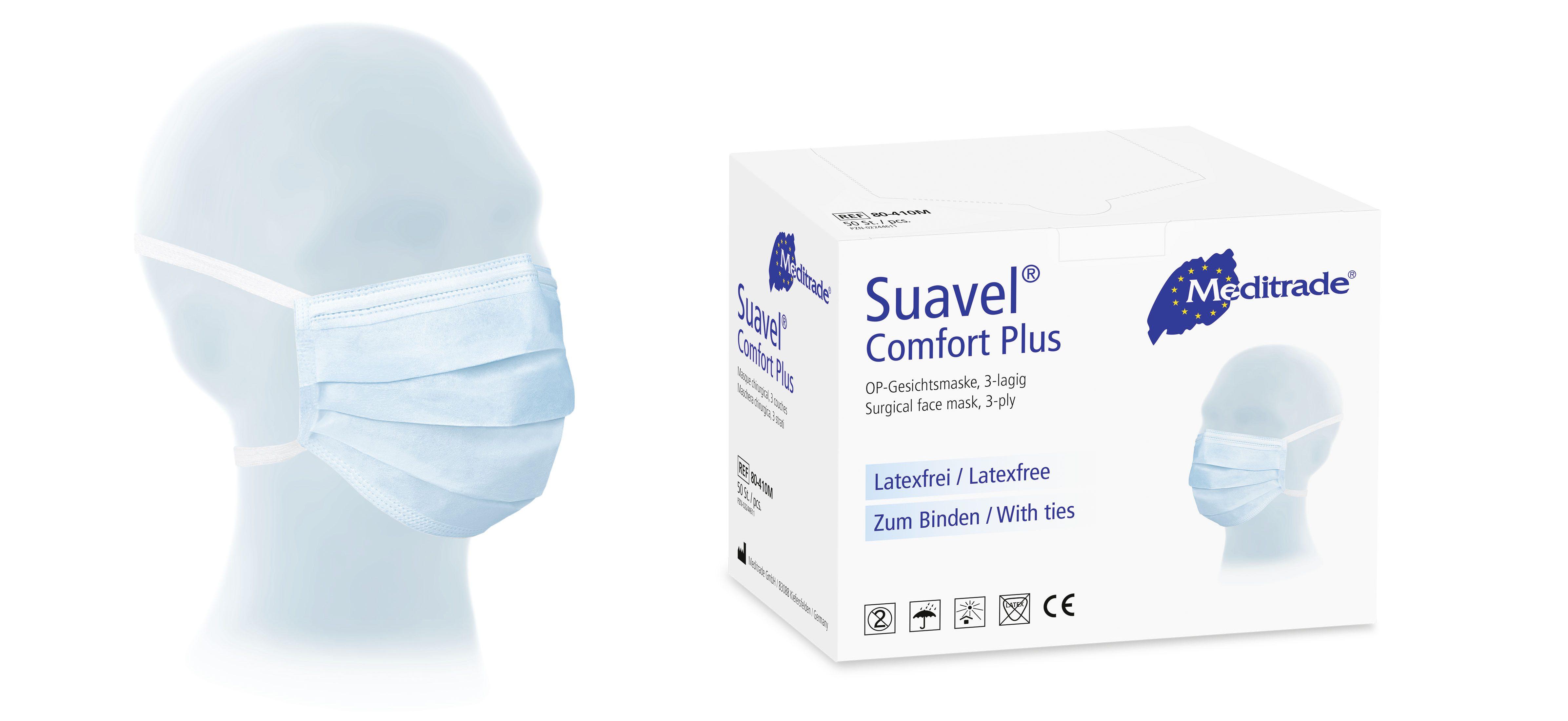 Suavel® Comfort Plus OP-Maske