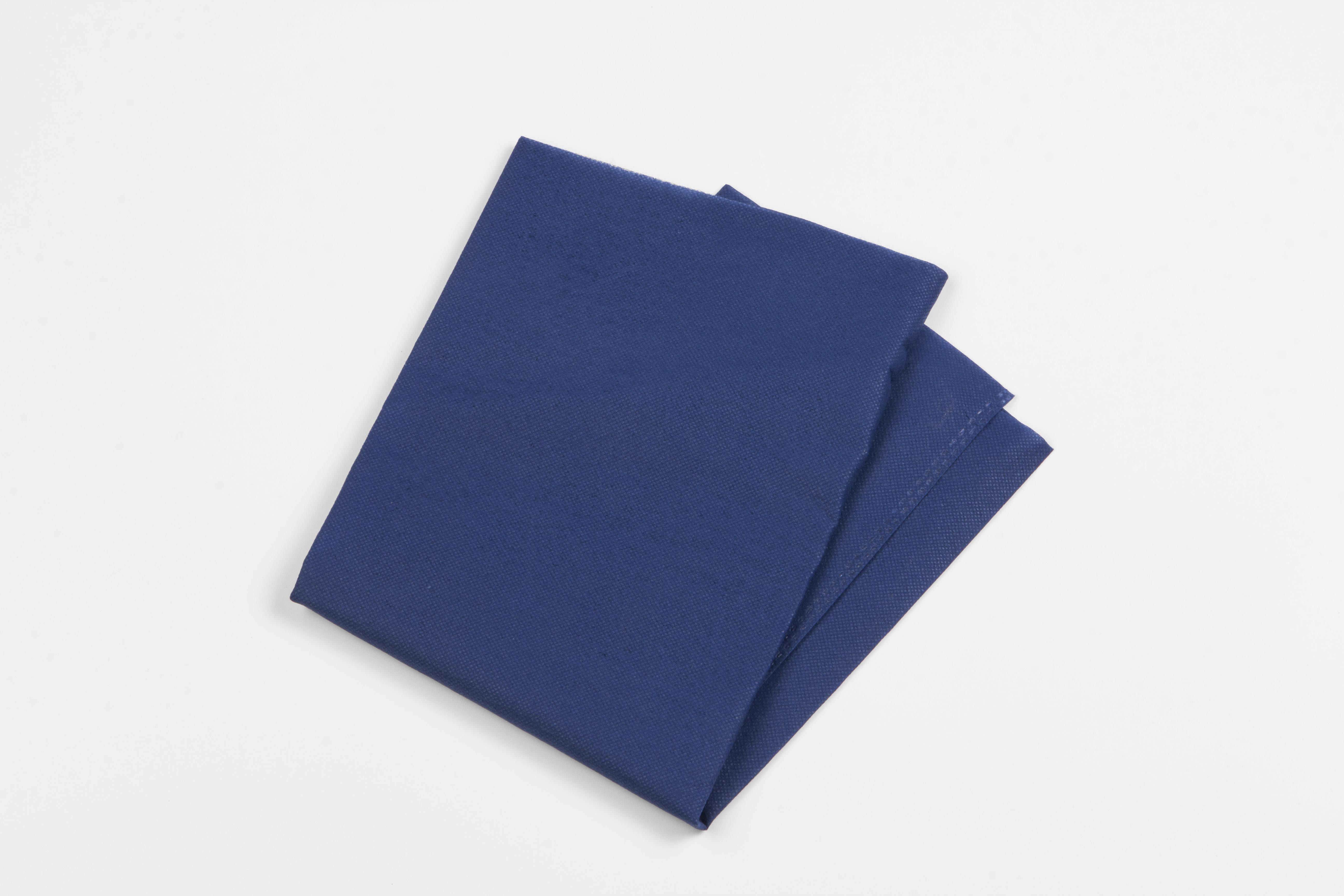 Einmal-Kissenbezug 42x65 cm blau