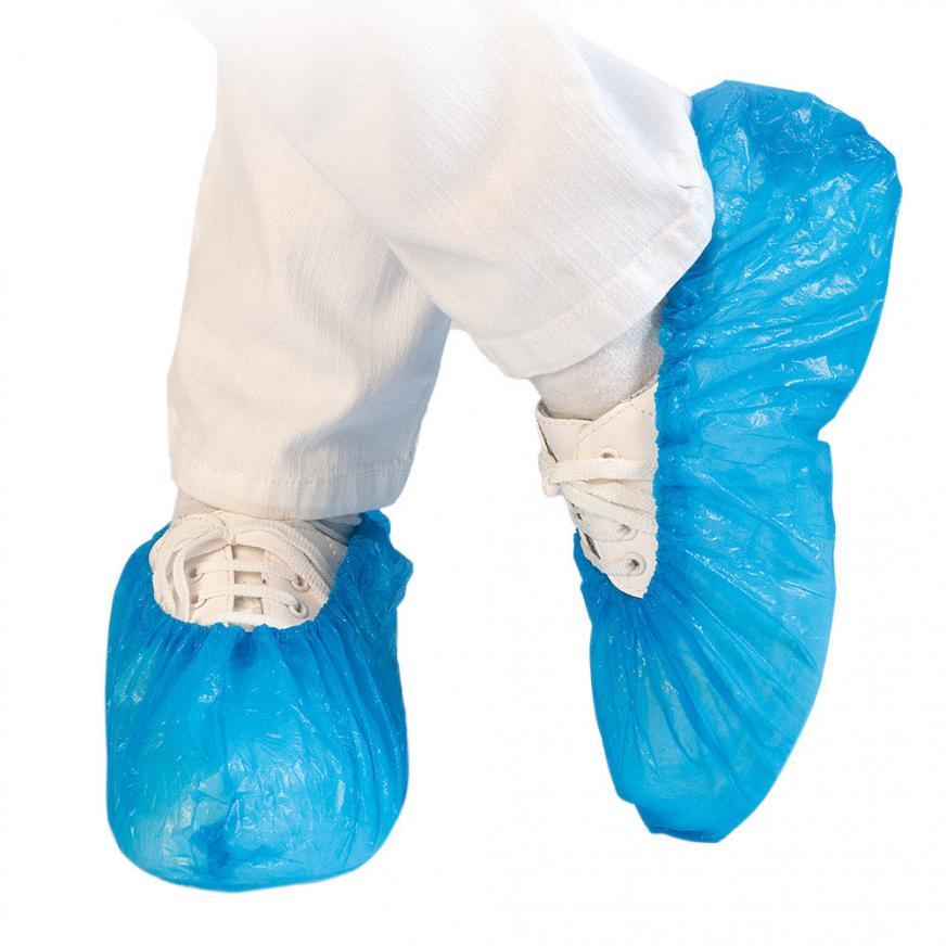 CPE Einweg-Schuhüberzieher