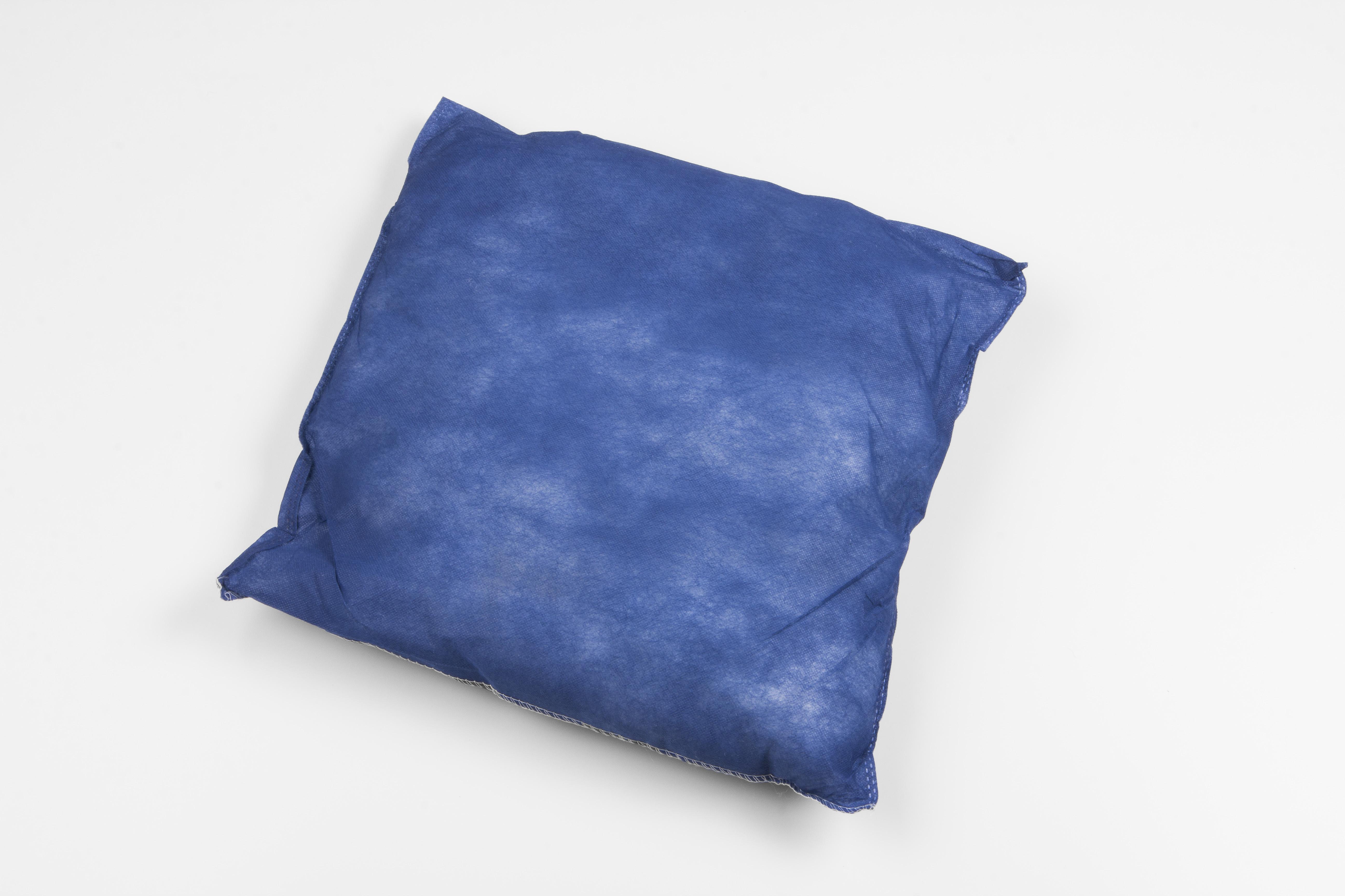 Einmalkissen blau 40x40 cm